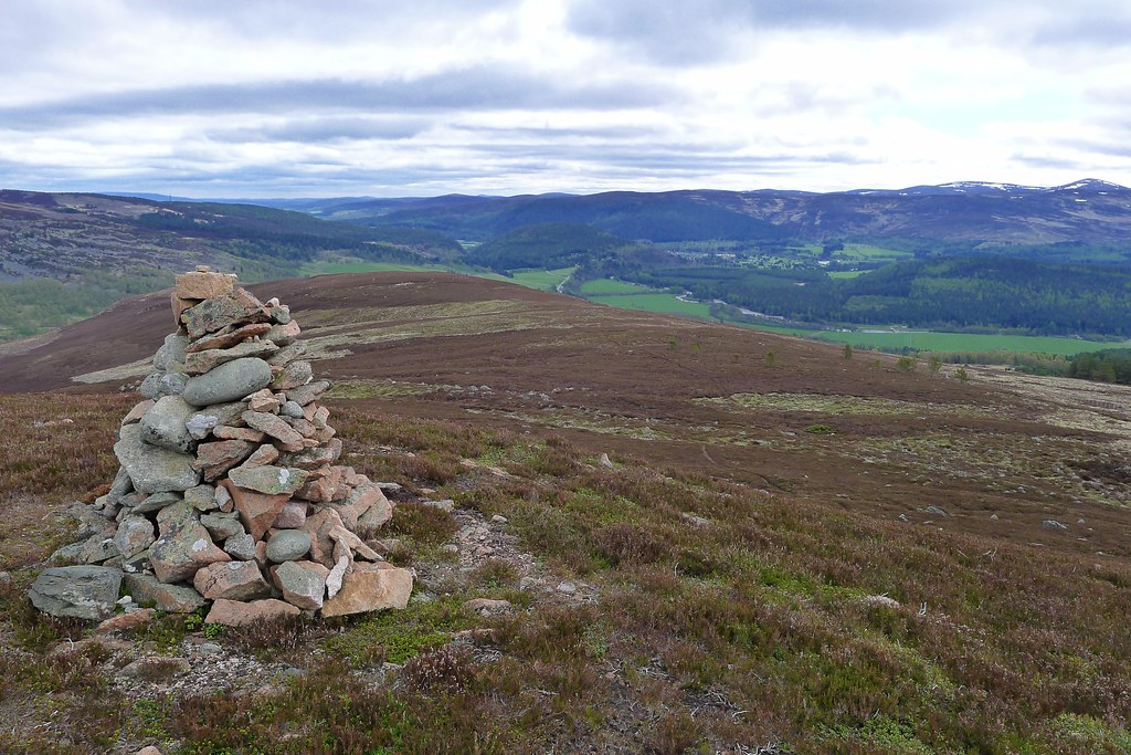 Cairn on Geallaig