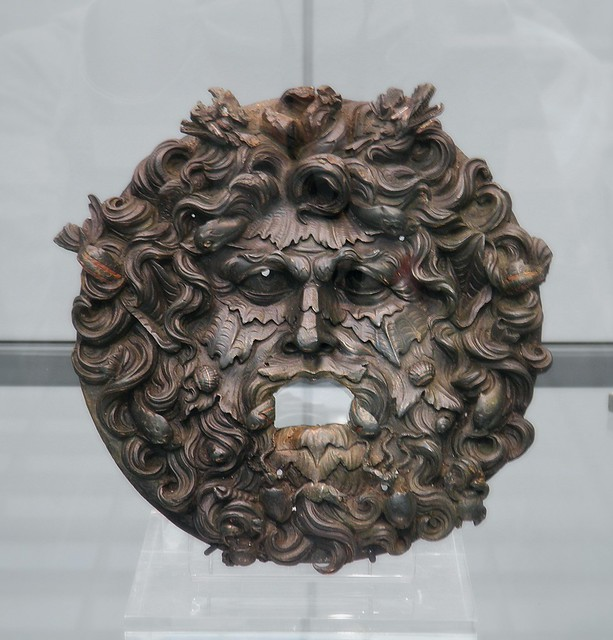 Bronze fountain mask of Oceanus, 2nd-3rd century AD, Staatliche Antikensammlungen, Munich