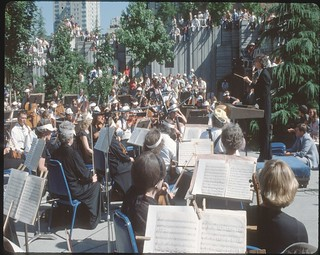 Concert in Freeway Park, 1979