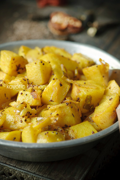 Roasted Masala Potatoes