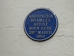 Photo of Barrington Bramley blue plaque