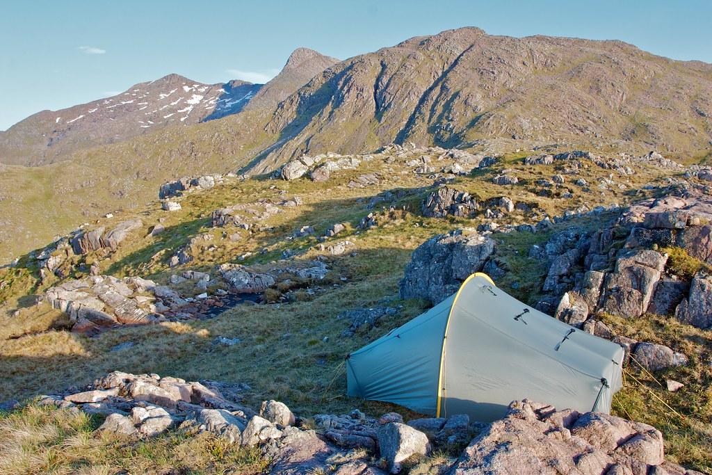Camped below Ben Cruachan