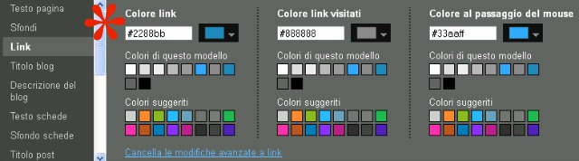 link designer modelli