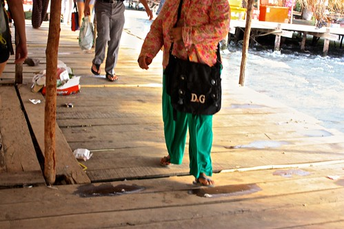 D&G brand awareness. Everyone unknowingly wears ripoff designer wear in rural SE Asia