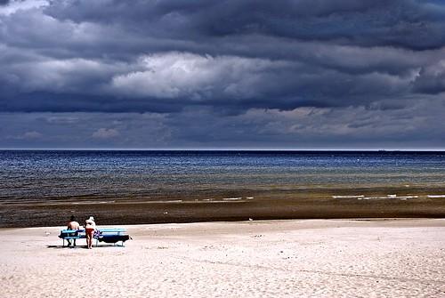 beach latvia spiaggia lettonia majori jūrmala