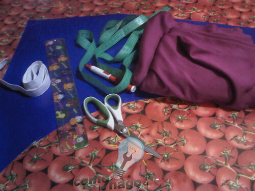 Cómo hacer guantes de tela elastica