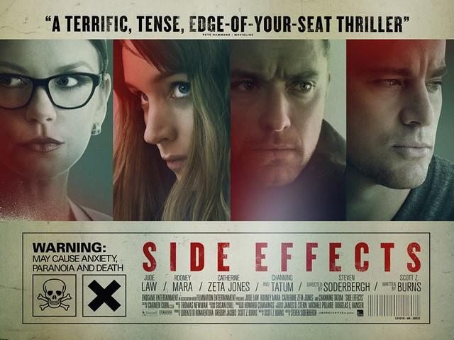 【電影影評】藥命關係(Side effects)(巨大的陰謀,你得一層層的揭開)
