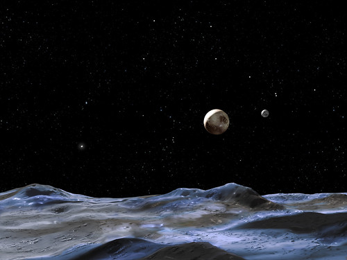 Imagining the Pluto system