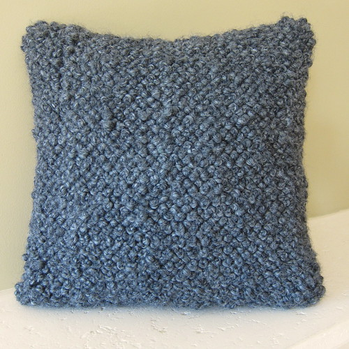 Iron Craft '13 #14 - Bulky French Knot Pillow