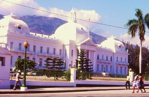 Presidential Palace, Port au Prince, Haiti