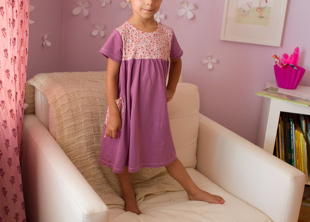 floral pocket nightgown