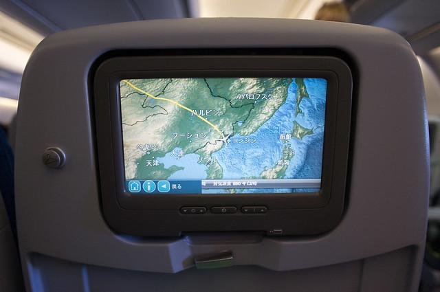 北朝鮮上空