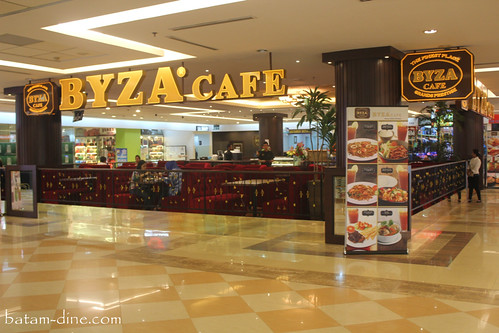 Front View of Byza Cafe