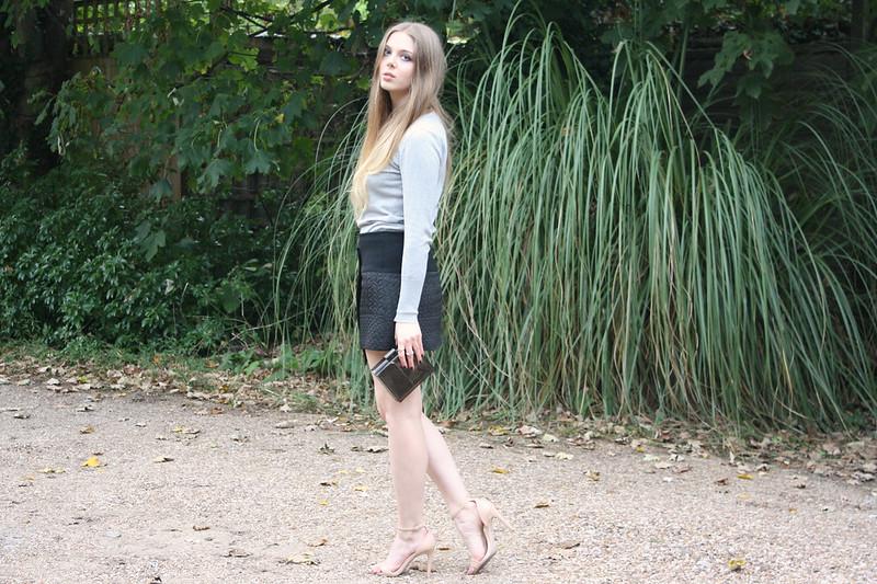 Zara nude sandals