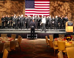 Final Preparation for the 2013 LAFD Awards Luncheon