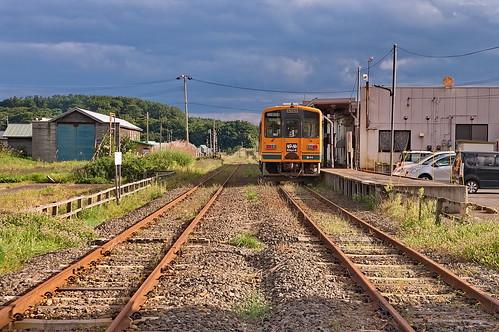 【写真】津軽中里駅