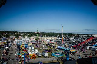 State Fair from Ferris Wheel