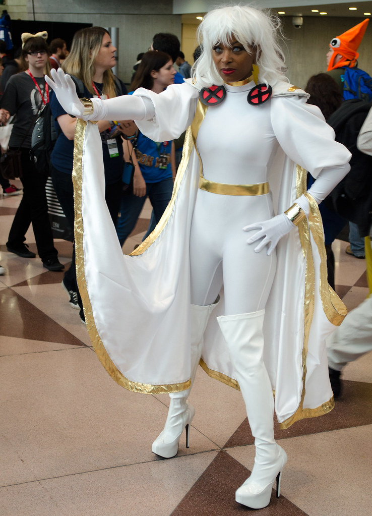 Storm Cosplay NYCC 2013