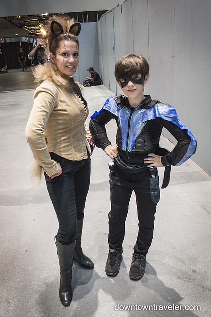 NY Comic Con Kids Costume Nightwing Robin