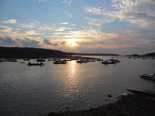 sunset sea sky ny newyork seascape clouds skyscape boats evening coast li harbor twilight sundown shoreline longisland coastline nautical cloudscape nightfall coldspringharbor