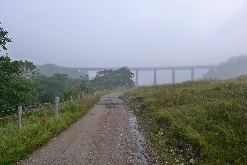 West Highland Line Viaduct at Auch
