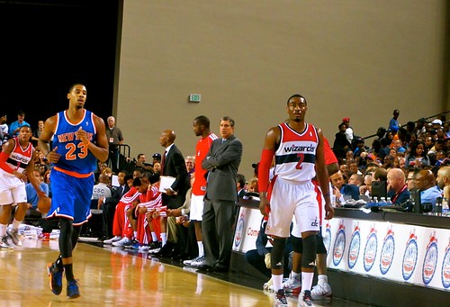 Washington, wizards, new york knicks, Baltimore, Baltimore arena, nba, preseason,  Baltimore classic, bullets, truth about it, adam mcginnis, John wall Randy wittman