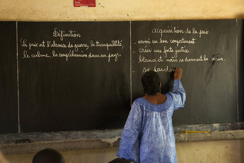"""Lancement de l'opération """"Retour à l'école"""" à Tombouctou – Operation Back to School in Timbuktu"""