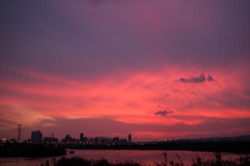 2013/10/27的夕陽