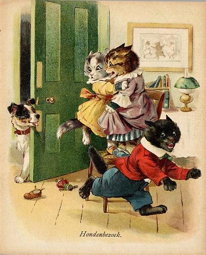 015- De drie katjes -1905-© Royal Library - Biblioteca Nacional de los Países Bajos