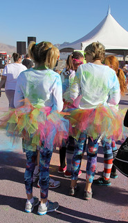 Tutus! - Color Me Rad 5K - Las Vegas, NV