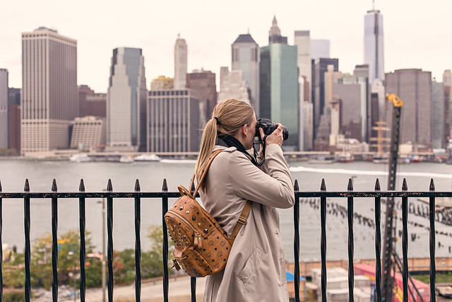 Photographing the Manhattan Skyline