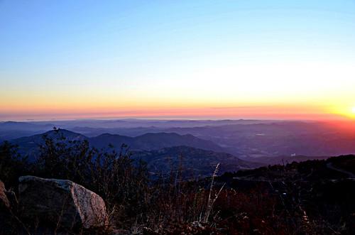 california light sunset view hills hillcountry sandiegocounty hilltopview layersoflight palomarmtn art4theglryofgod viewfrompalomar