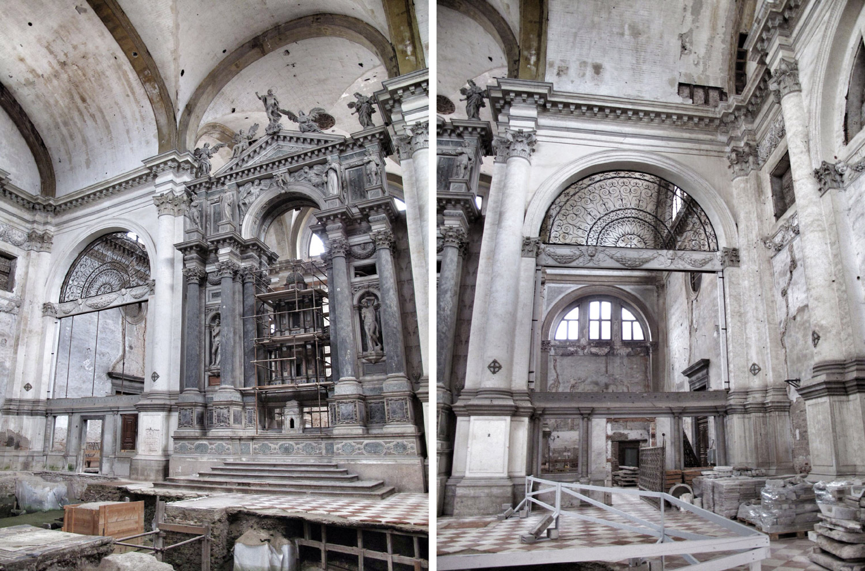 iglesia restauración san lorenzo_venecia_renzo piano