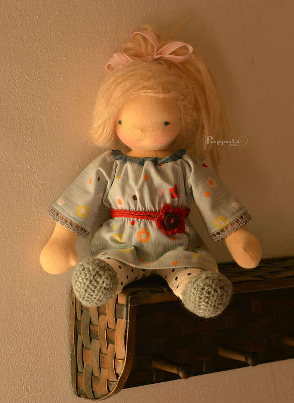Tunic and leggings for 12 doll