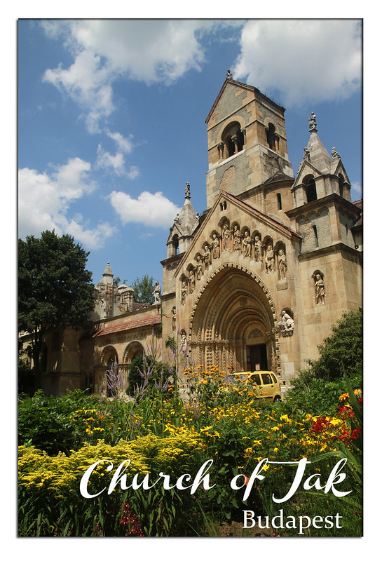 church of  jak2 postcard