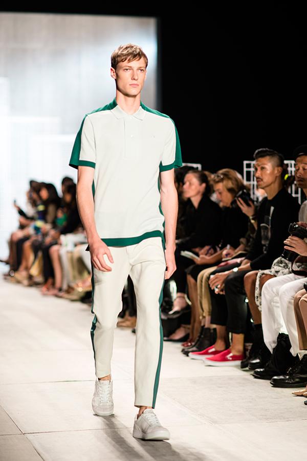 eatsleepwear, lacoste, runway, nyfw, ss14