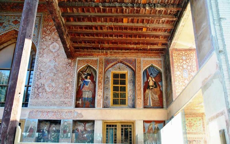 65 Palacio de Chehel Sotun o de las 40 columnas en Isfahan (29)