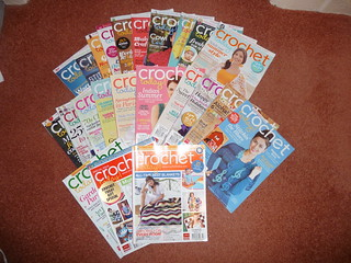 Crochet Today magazines for Sale now at only £1.00 each Plus Postage.