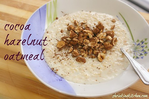 Hazelnut Oatmeal 2