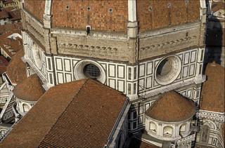 Florence Cathedral (Duomo; Santa Maria del Fiore):  octagonal drum above crossing