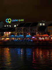 Singapore - Clarke Quay at Night