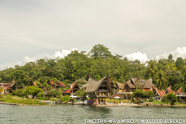 Indonesia - North Sumatra - Samosir Island - Boat ride at Lake Toba - Tabo Cottages-2