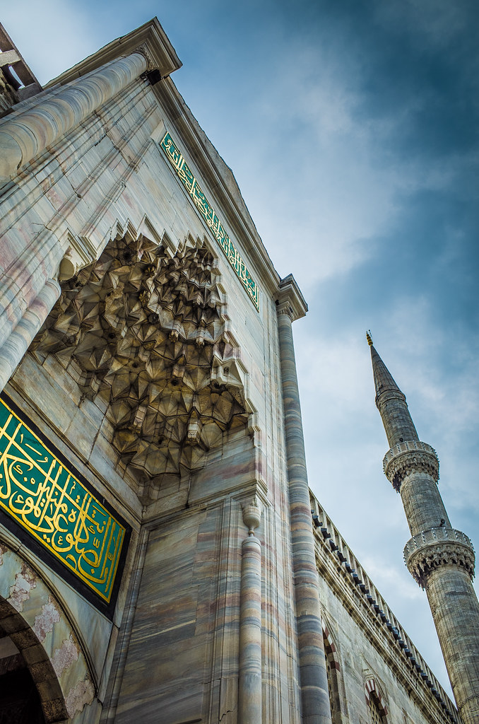 The blue mosque picture