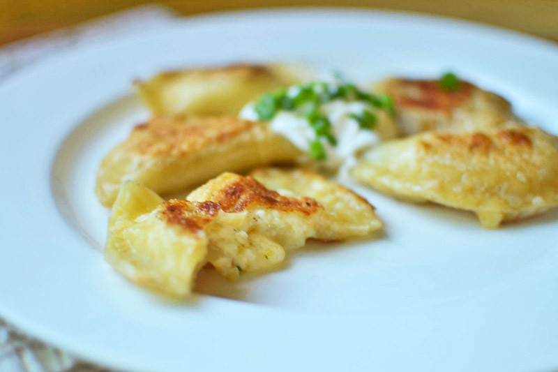 Easy Homemade Pierogies via LittleFerraroKitchen.com