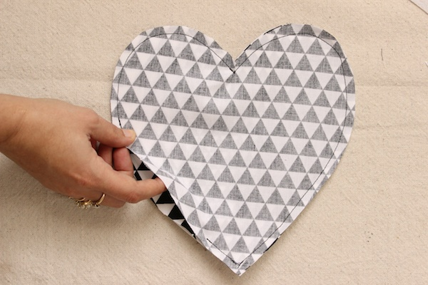 Fabric Paper Glue | DIY Heart Wristlet Clutch