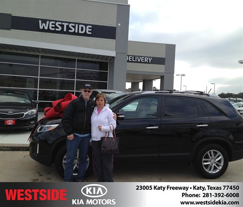 Thank you to James Mathis on your new #KIA from Jonathan Delgado and everyone at Westside Kia! by Westside KIA