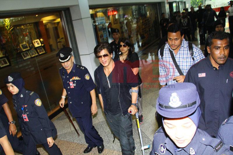 Shah Rukh Khan Tiba Di Klia
