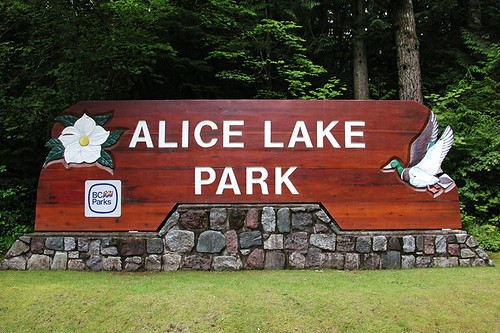 Alice Lake Park, Brackendale, Squamish, Sea to Sky Highway, British Columbia, Canada