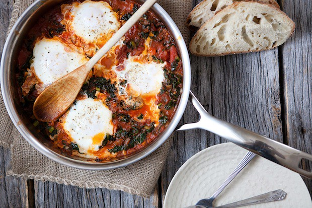 Kale shakshuka from Food52