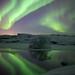 Myvatn aurora by g lloyd
